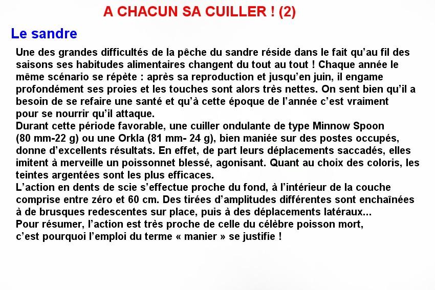 A CHACUN SA CUILLERE ! (2)