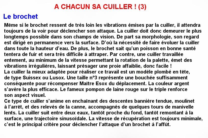 A CHACUN SA CUILLERE ! (3)