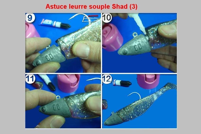 ASTUCE LEURRE SOUPLE SHAD  (3)