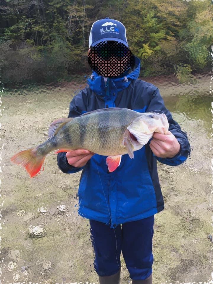 Belle façon de tenir un poisson