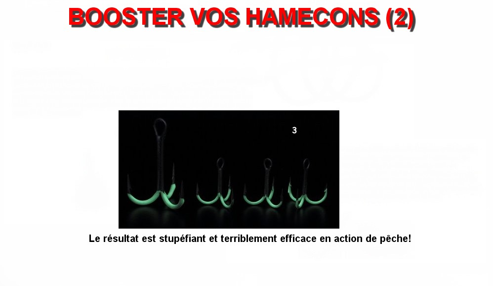 BOOSTER VOS HAMECONS