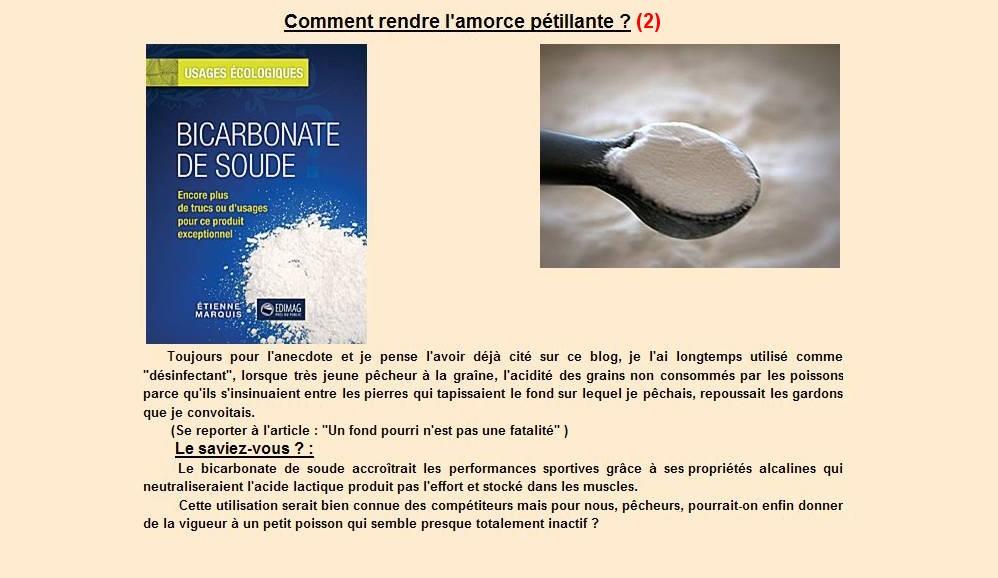 Comment rendre l'amorce pétillante (2)
