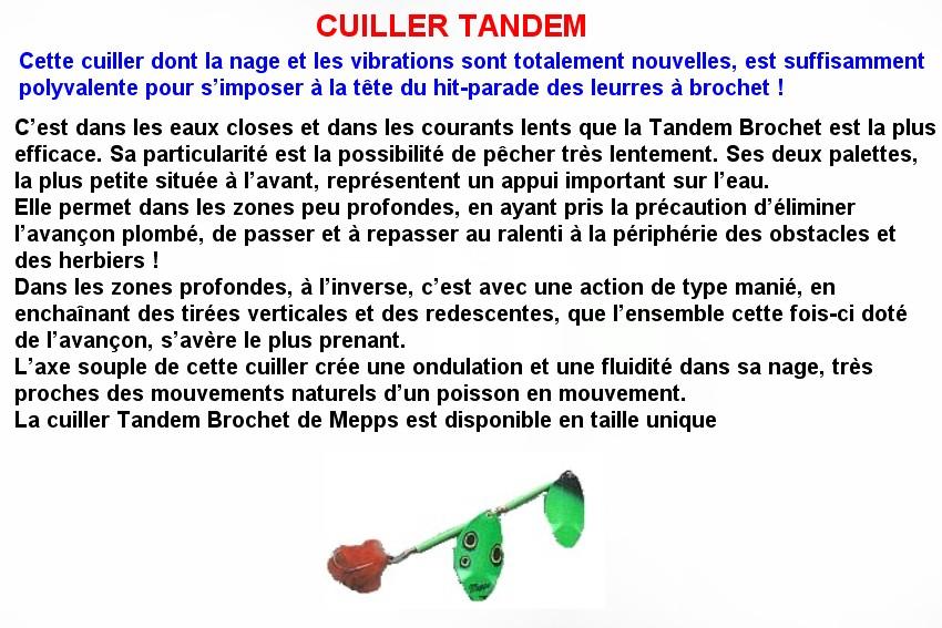 CUILLER TANDEM