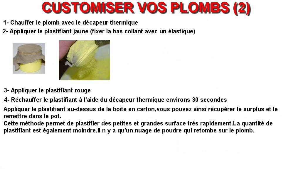 CUSTOMISER VOS PLOMBS (2)