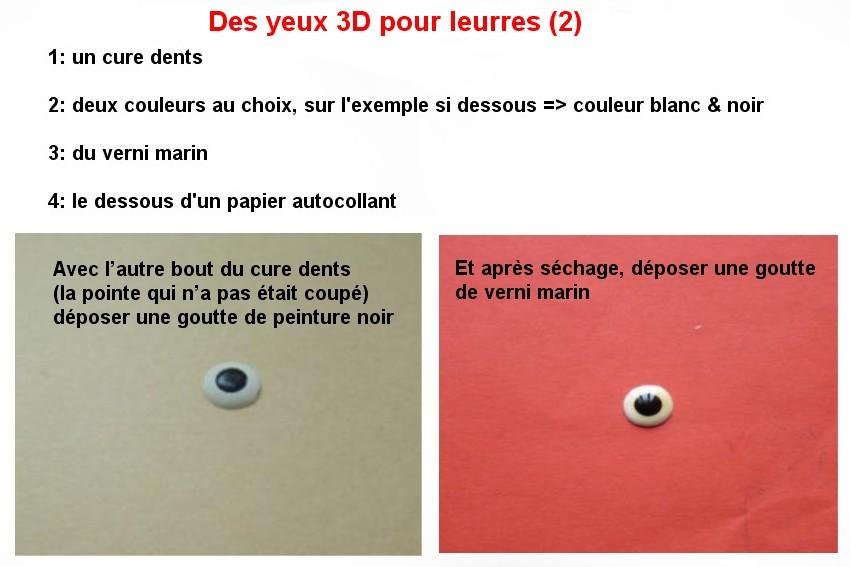 DES YEUX EN 3D