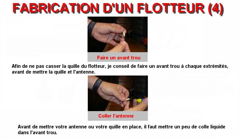 FABRICATION D'UN FLOTTEUR (4)