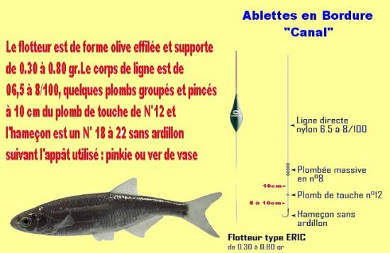 Ablettes Canal Bordure 1