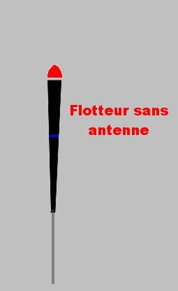 FLOTTEUR SANS ANTENNE