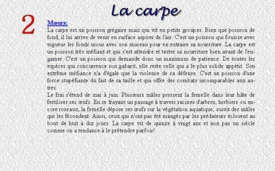 LA CARPE 2