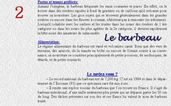 LE BARBEAU 2