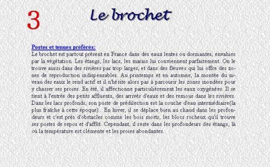 LE BROCHET 3
