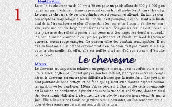 LE CHEVESNE 1