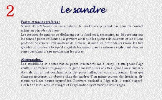 LE SANDRE 2