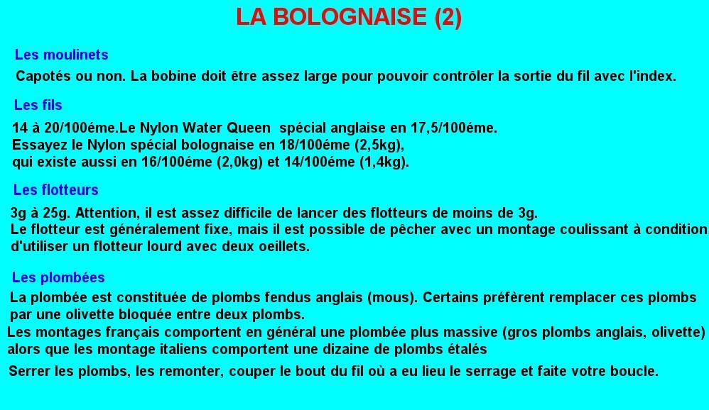 LA BOLOGNAISE (2)