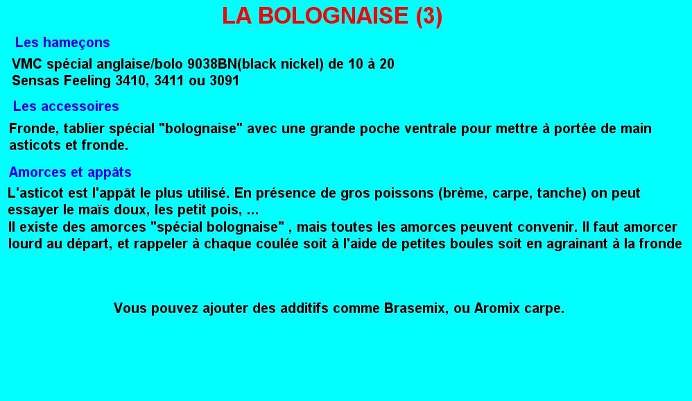 LA BOLOGNAISE (3)