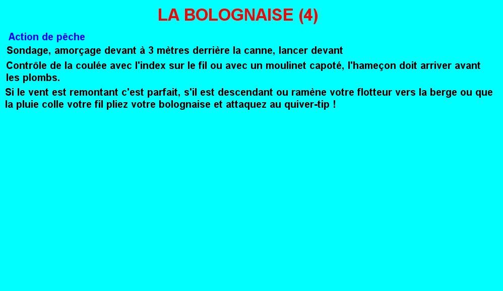 LA BOLOGNAISE (4)