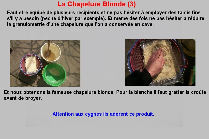 La Chapelure Blonde