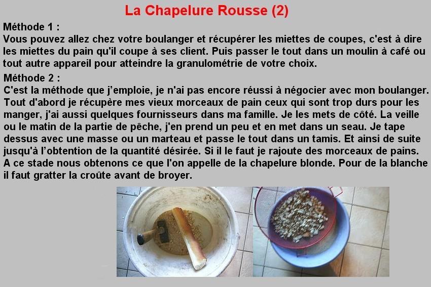 LA CHAPELURE ROUSSE (2)