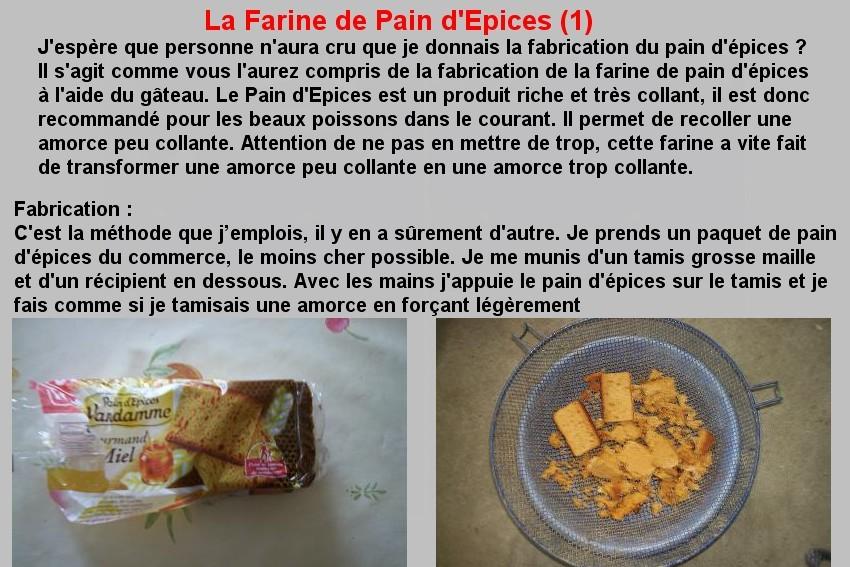 LA FARINE DE PAIN D'EPICES (1)
