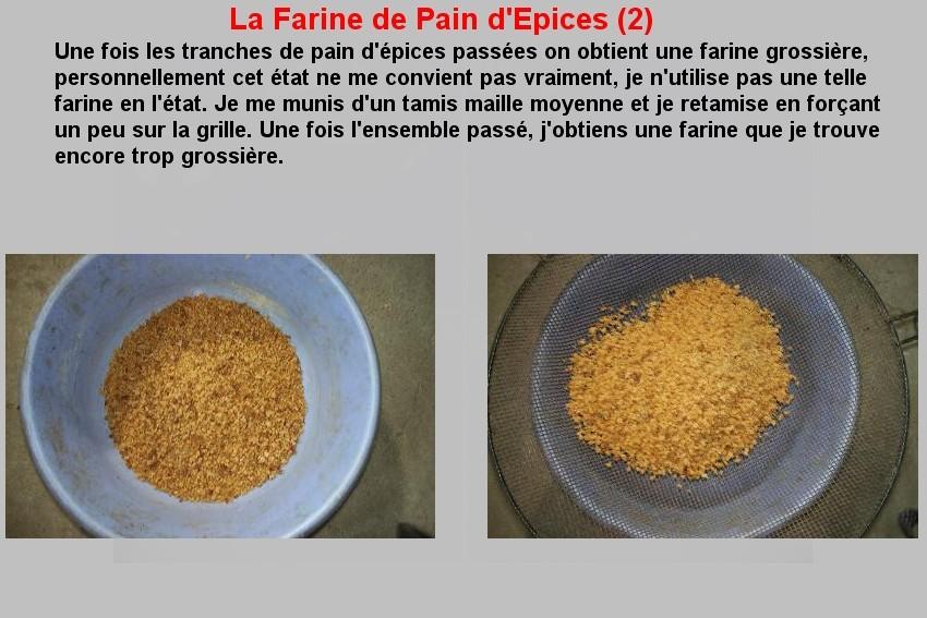 LA FARINE DE PAIN D'EPICES (2)