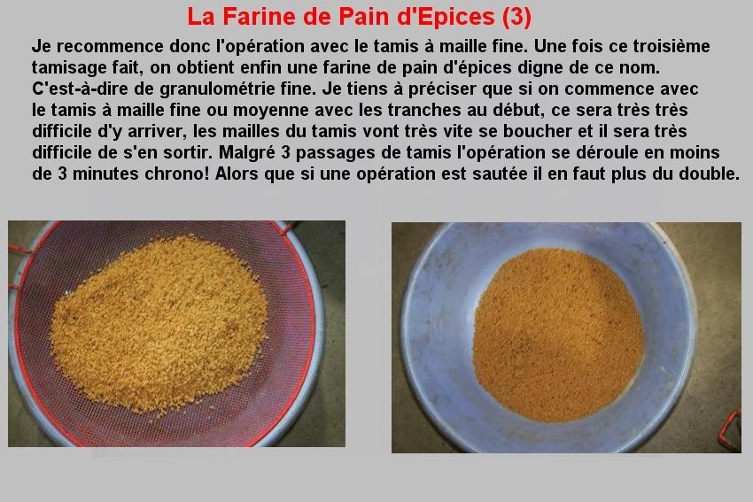 LA FARINE DE PAIN D'EPICES (3)