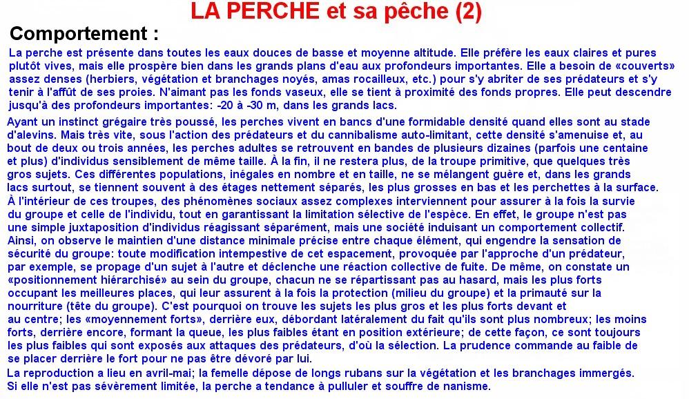 LA PERCHE ET SA PECHE (2)