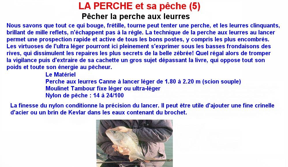 LA PERCHE ET SA PECHE (5)