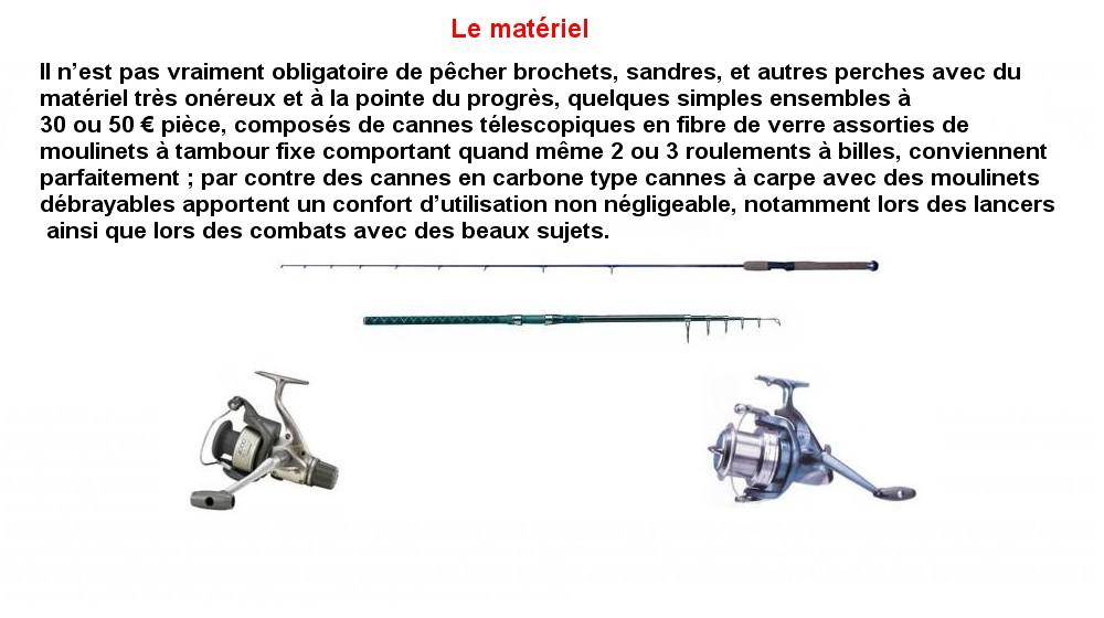 LE MATERIEL (1)