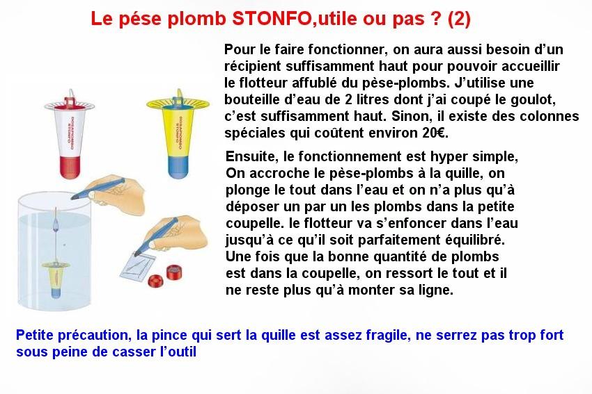 Le pése plomb stonfo (2)