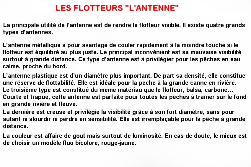LES FLOTTEURS L'ANTENNE (5)
