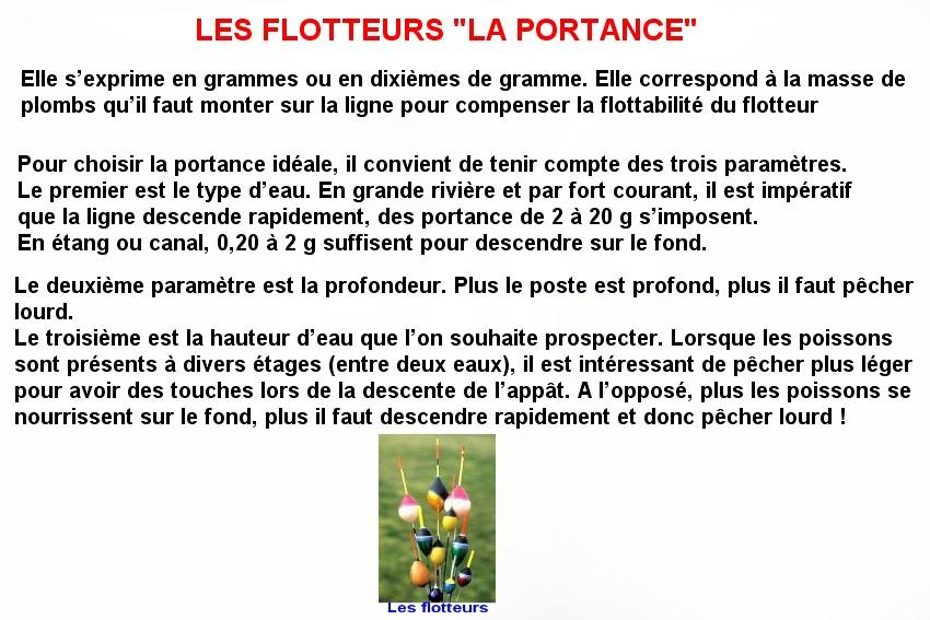 LES FLOTTEURS LA PORTANCE (3)
