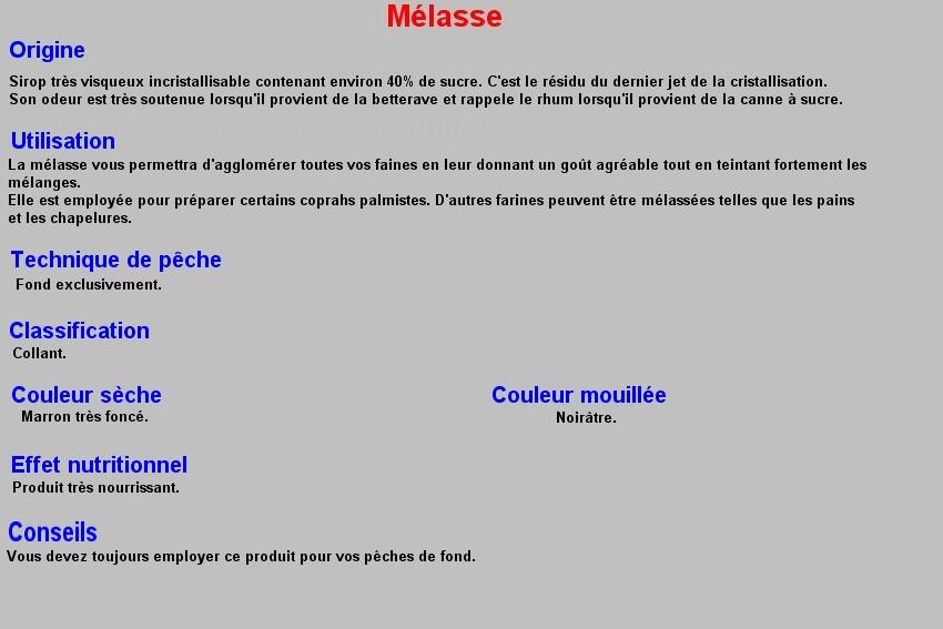 MELASSE 30