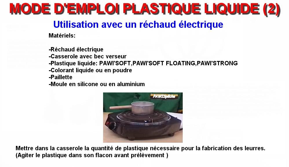 MODE D'EMPLOI PLASTIQUE LIQUIDE (2)