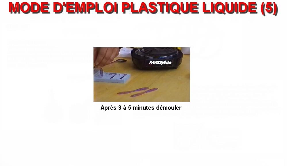 MODE D'EMPLOI PLASTIQUE LIQUIDE (5)