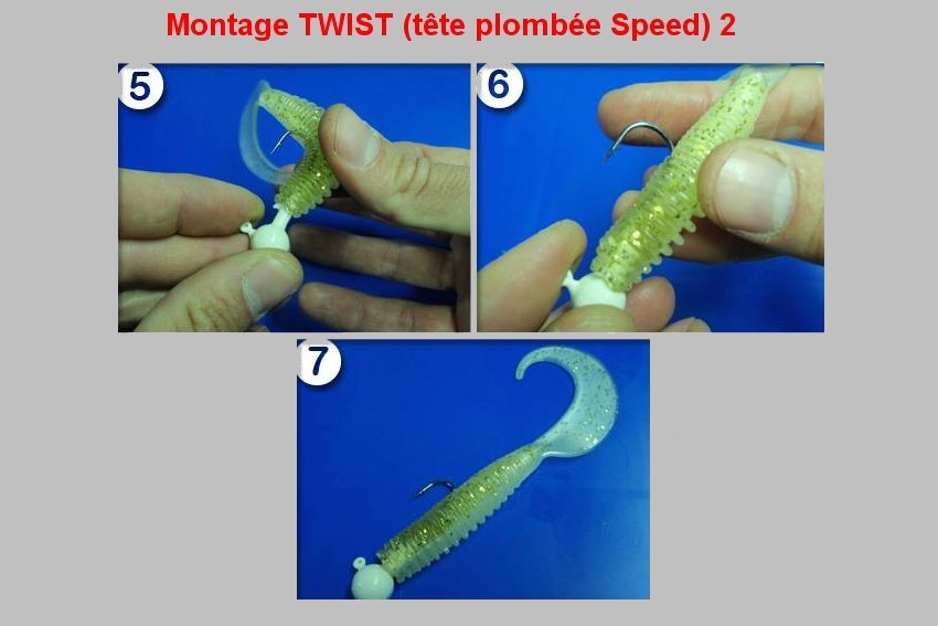 Montage TWIST (+ TETE PLOMBEE SPEED)  2
