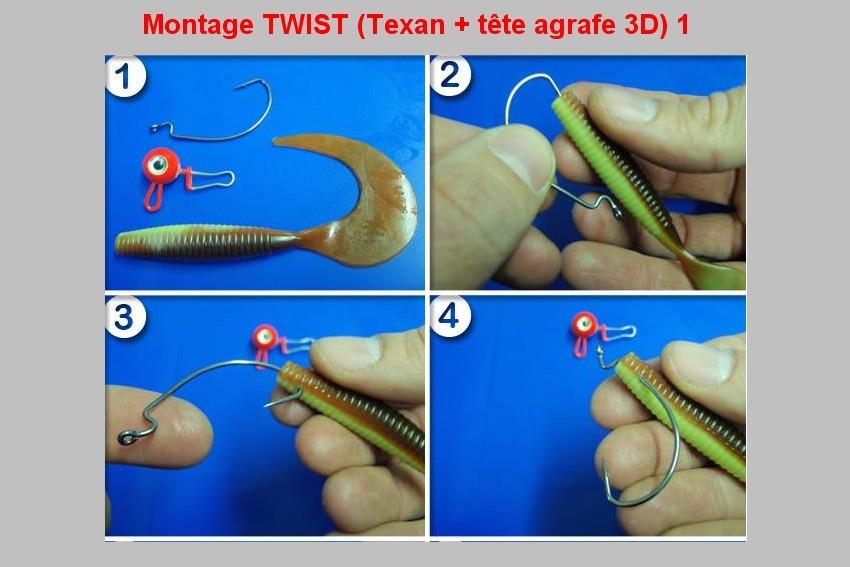 Montage TWIST (TEXAN + TETE AGRAFE 3D)  1