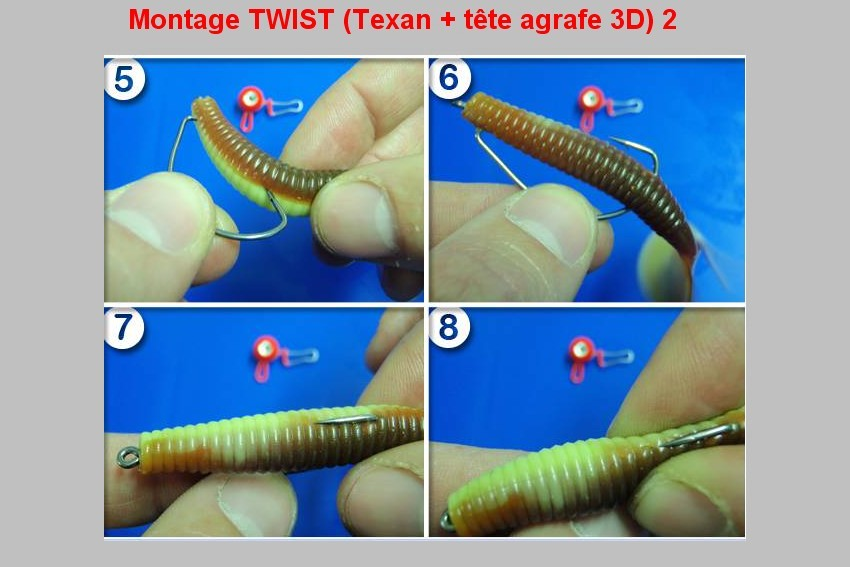 Montage TWIST (TEXAN + TETE AGRAFE 3D)  2