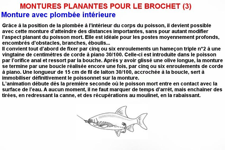 MONTURES PLANANTES POUR LE BROCHET (3)