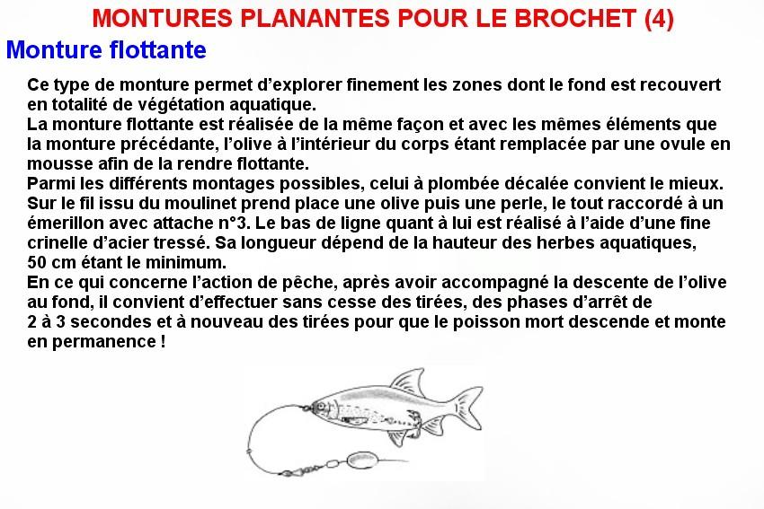 MONTURES PLANANTES POUR LE BROCHET (4)
