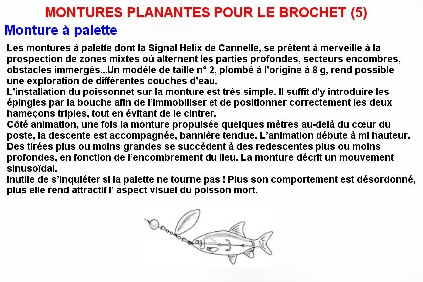 MONTURES PLANANTES POUR LE BROCHET (5)