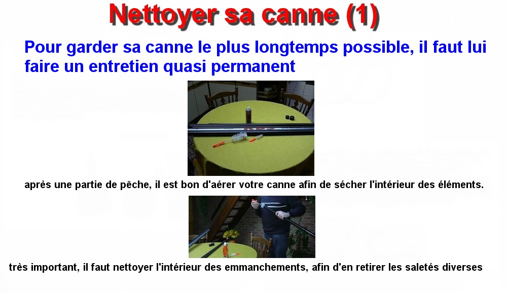 Nettoyer sa canne (1)