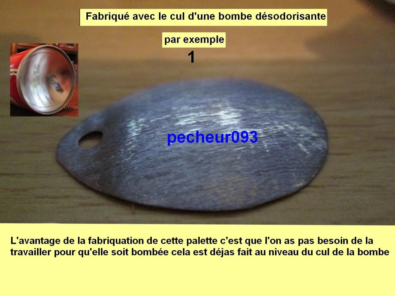 """FABRICATION D'UNE PALETTE """"De Moi"""""""