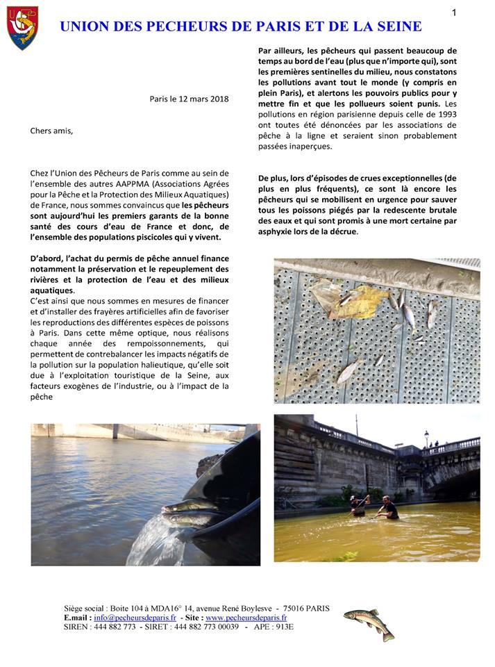 Pêcheurs de Paris et de la Seine