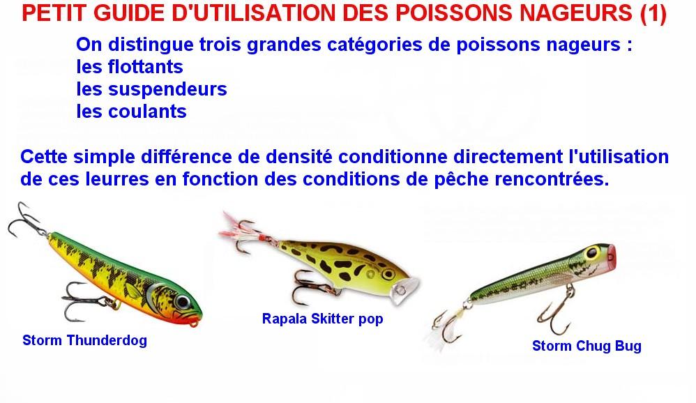PETIT GUIDE D'UTILISATION DES POISSONS NAGEURS (1)