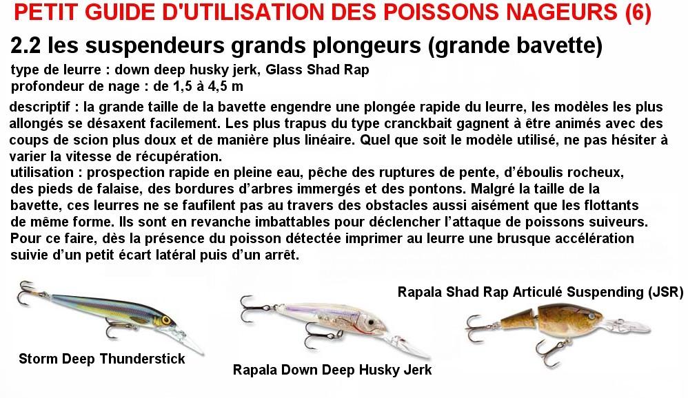 PETIT GUIDE D'UTILISATION DES POISSONS NAGEURS (6)