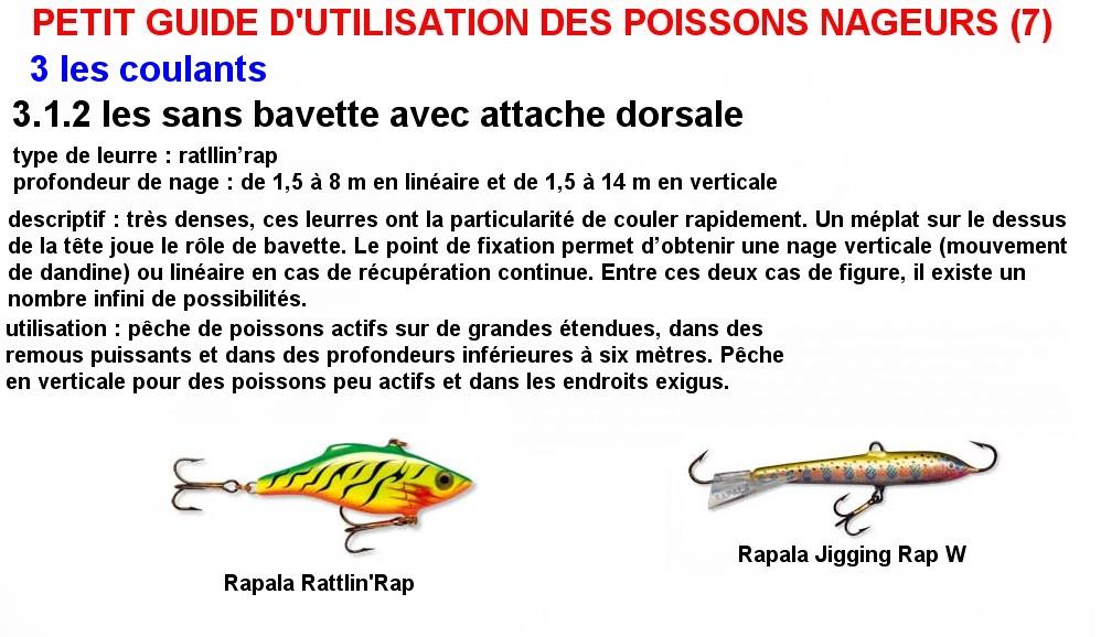 PETIT GUIDE D'UTILISATION DES POISSONS NAGEURS (7)