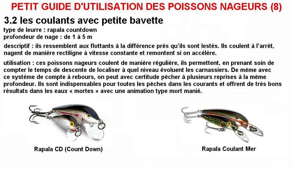PETIT GUIDE D'UTILISATION DES POISSONS NAGEURS (8)