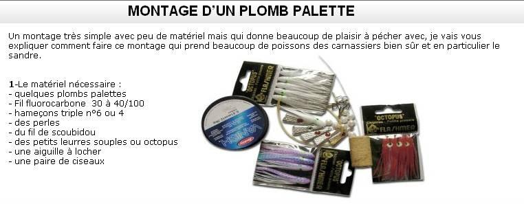 PLOMB PALETTE (1) SANDRE
