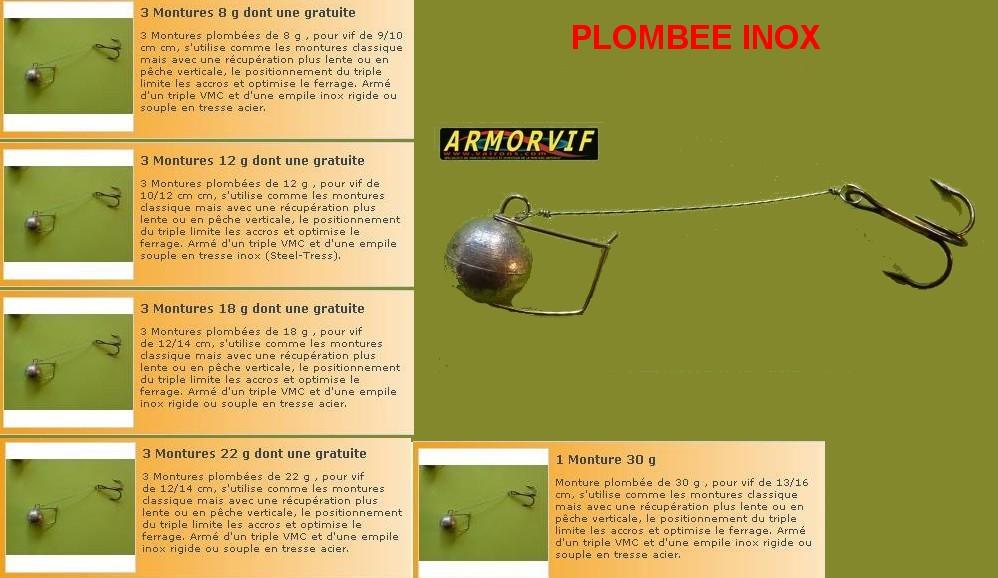 PLOMBEE INOX