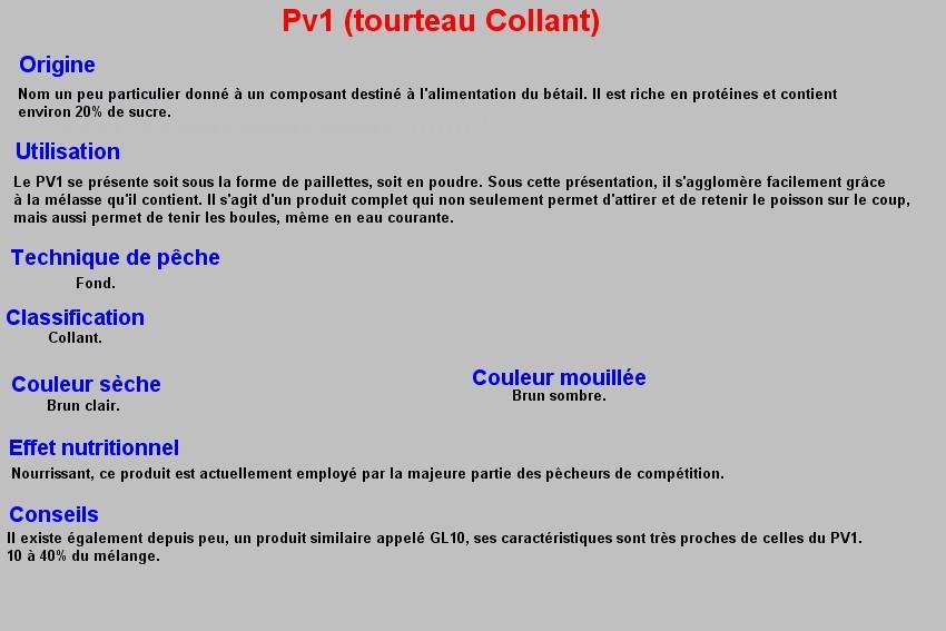 PV1 (tourteau collant) 36